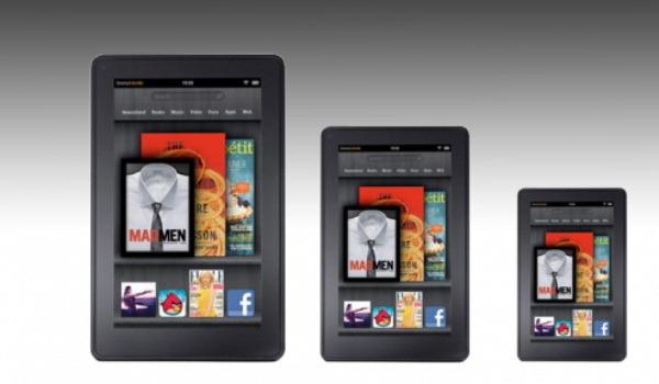 NYT: Amazon planuieste un Kindle Fire mai mare, iar Apple un iPad mai mic