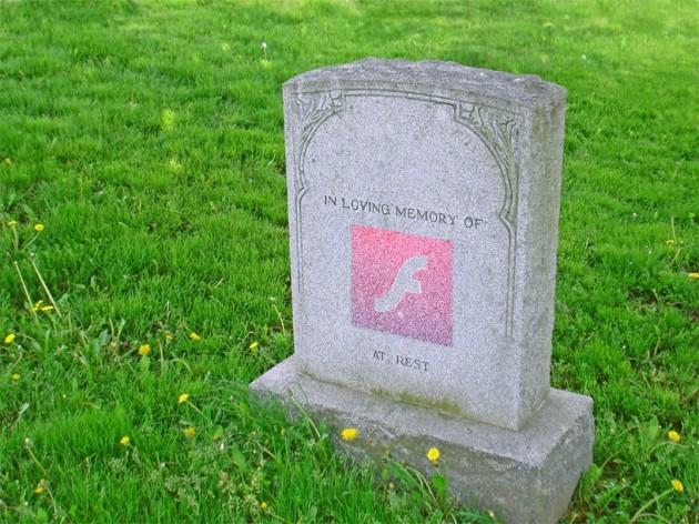 Adobe Flash a murit
