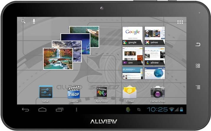 Allview lanseaza un facelift pentru tableta Alldro Speed