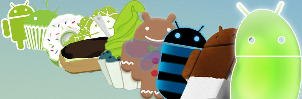 Evolutia Android de la Gingerbread la Jelly Bean