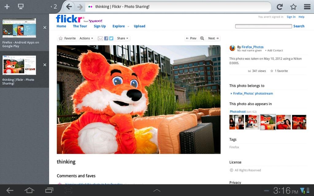 Firefox pentru tablete devine mult mai sprinten