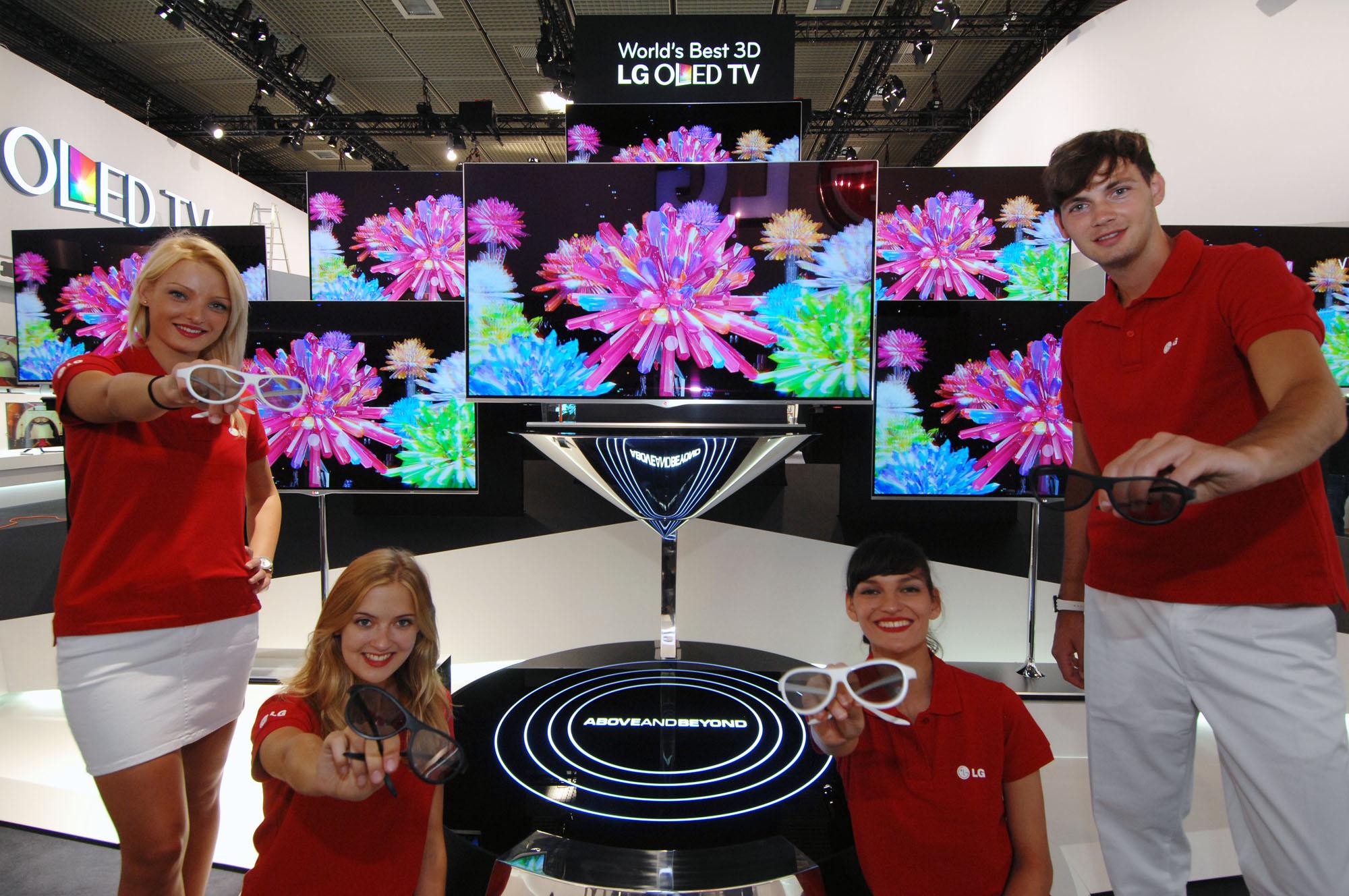 LG redefineste Home Entertainment-ul la IFA