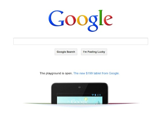 Nexus 7 primeste reclama pe Google Search