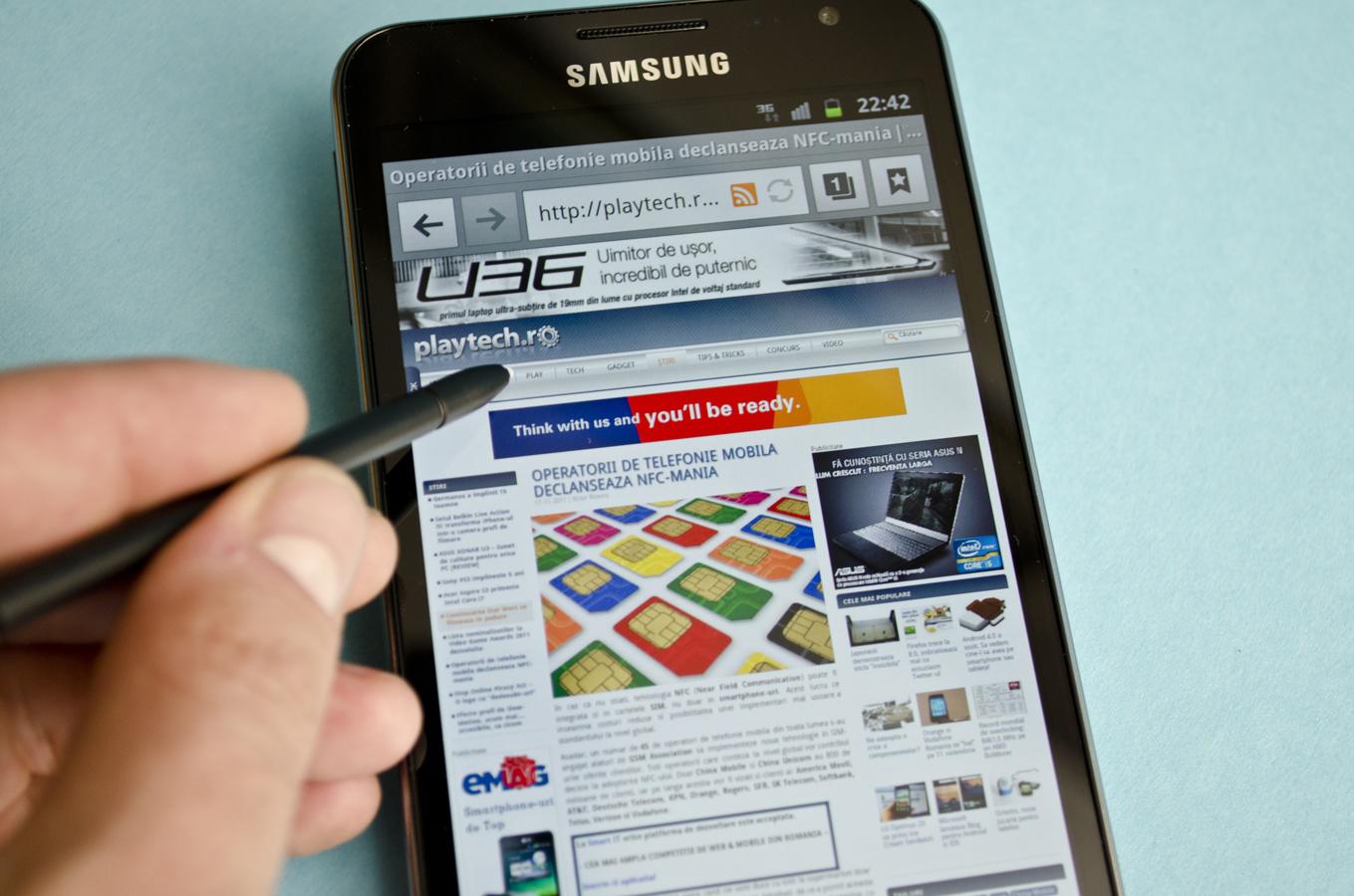 Samsung Galaxy Note se vinde bine
