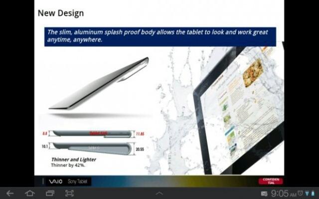 Sony pregateste o noua tableta: Xperia Tablet