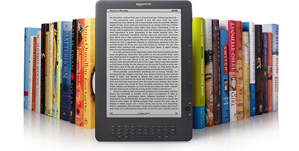 Amazon vinde mai multe e-book-uri decat carti fizice