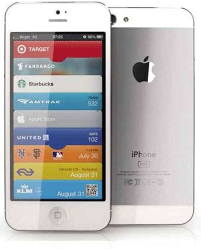 Noul iphone 5 alb