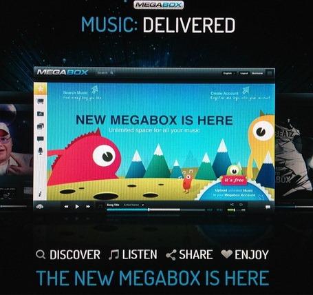 Megabox – Kim Dotcom reinventeaza distributia digitala de muzica