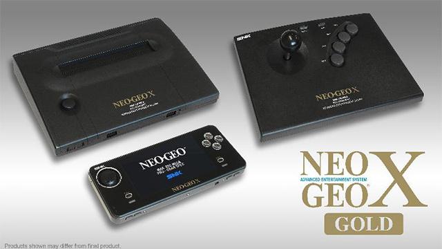 Neo Geo se intoarce in versiunea X Gold