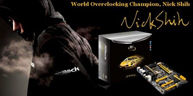 Nick Shih ASRock Z77 OC Formula