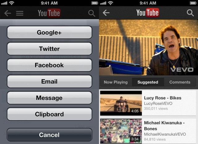Google lanseaza aplicatia YouTube pentru iOS