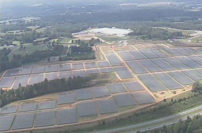 Apple solar farm