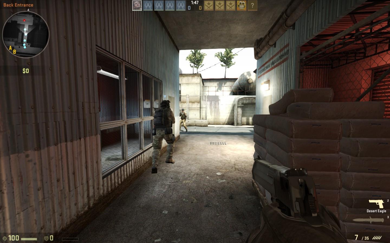 Counter-Strike GO de_train