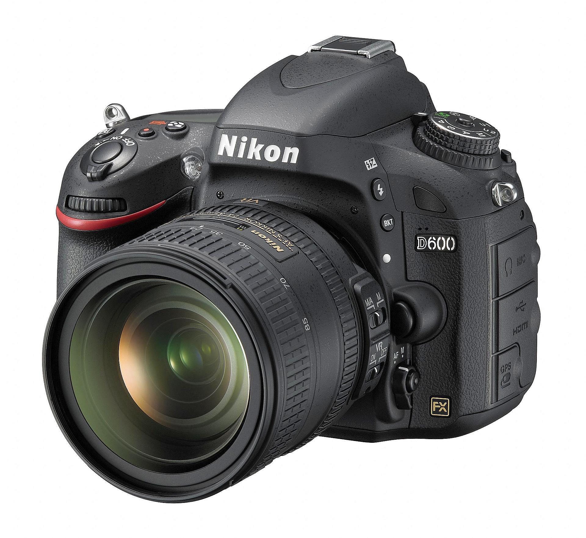 Nikon D600 – Cel mai mic DSLR Full Frame