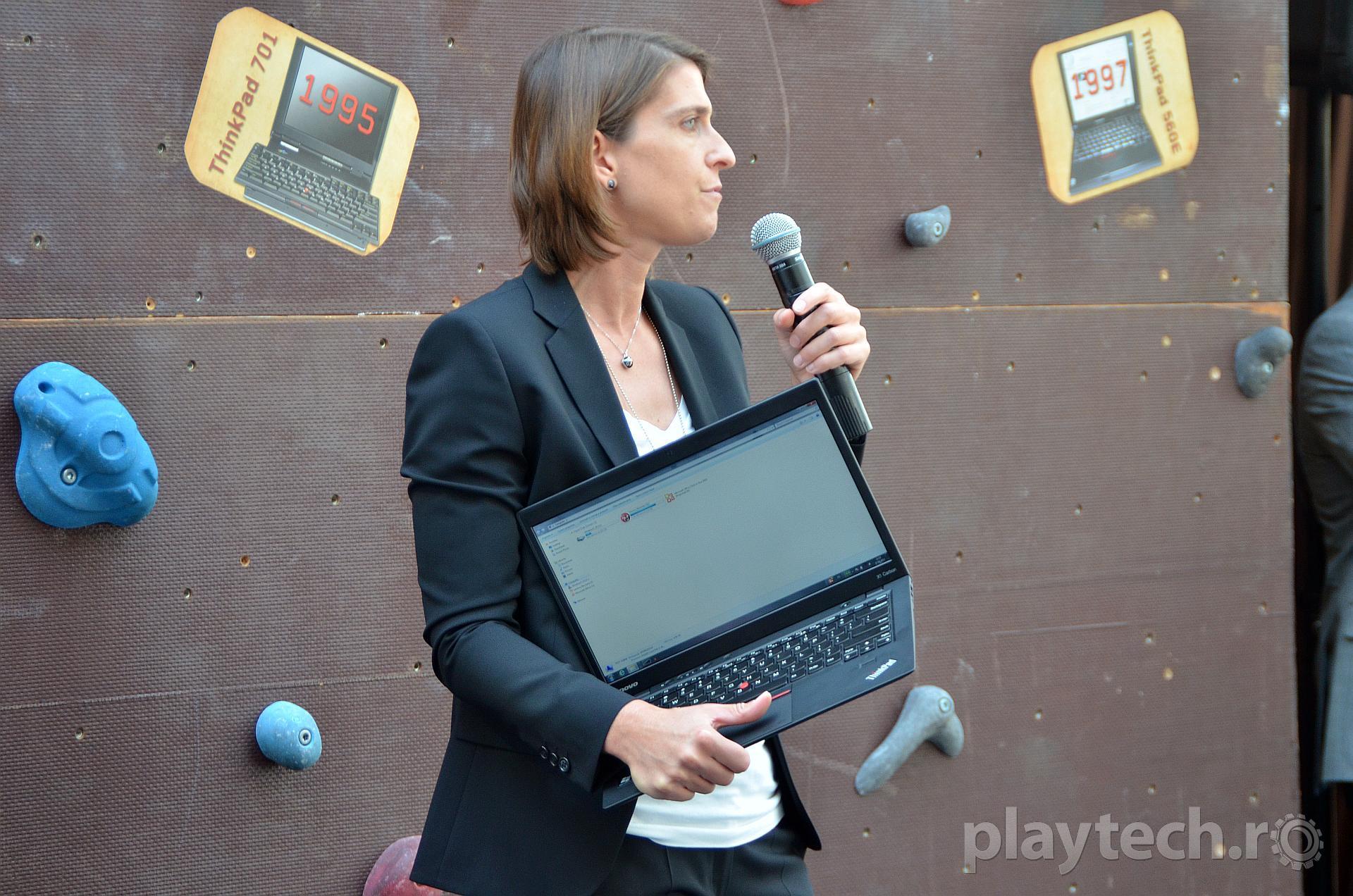 Lenovo lanseaza noul ultrabook ThinkPad X1 Carbon