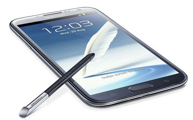 Galaxy Note II se materializeaza pentru prima oara in Anglia
