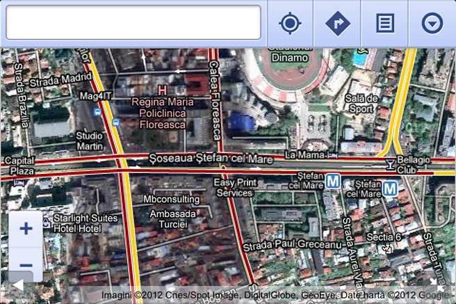Google Maps Browser Trafic