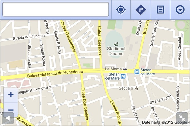 Google Maps Browser