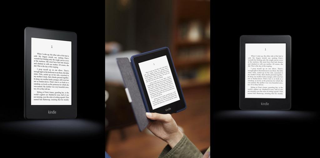 Amazon lanseaza un Kindle cu ecran luminat: Paperwhite