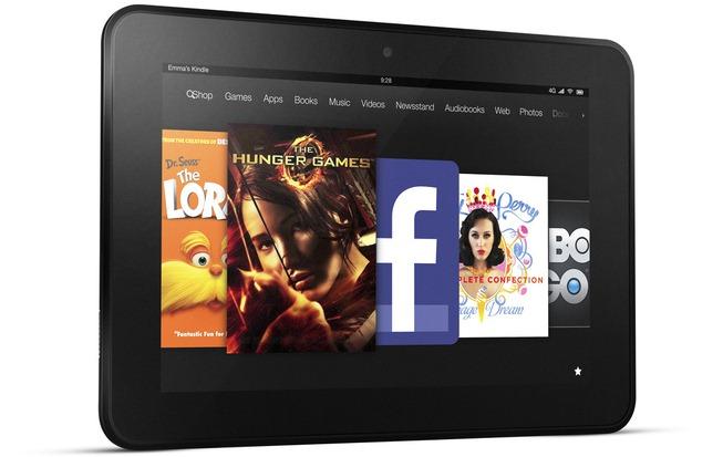 Kindle Fire primeste un upgrade semnificativ, trece la HD