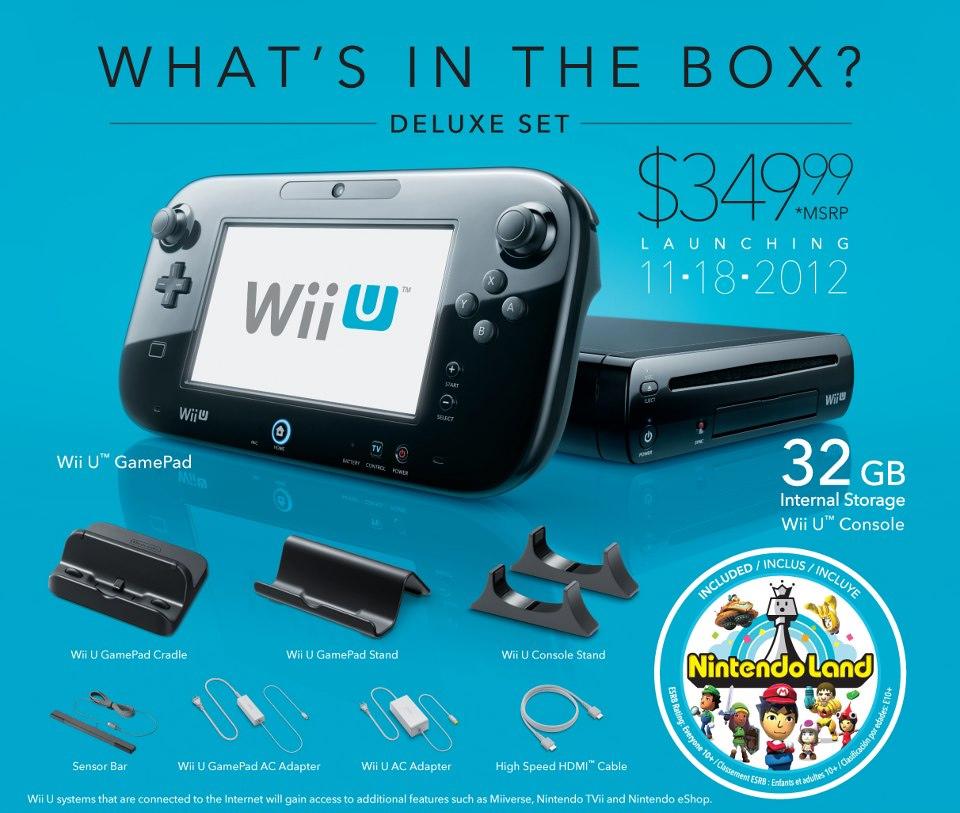 Wii U primeste specificatii oficiale, data de lansare si jocuri de debut