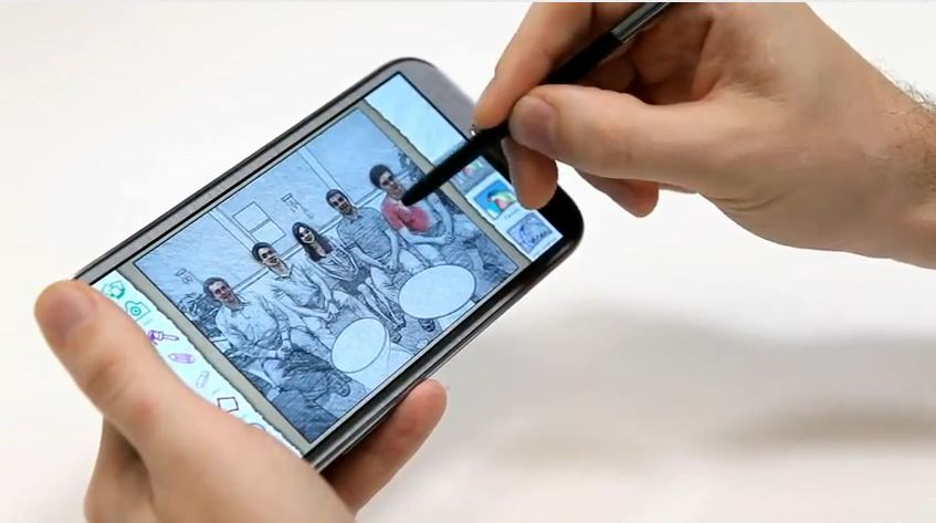 Samsung Galaxy Note II in toata splendoarea sa