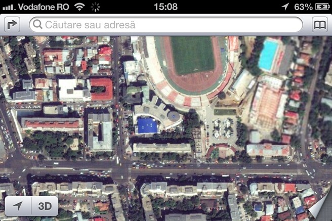 iOS 6 Maps Satelit