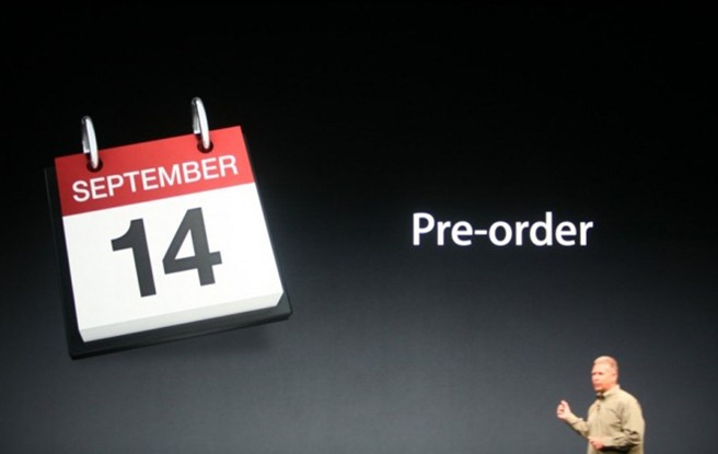 iphone 5 preorders