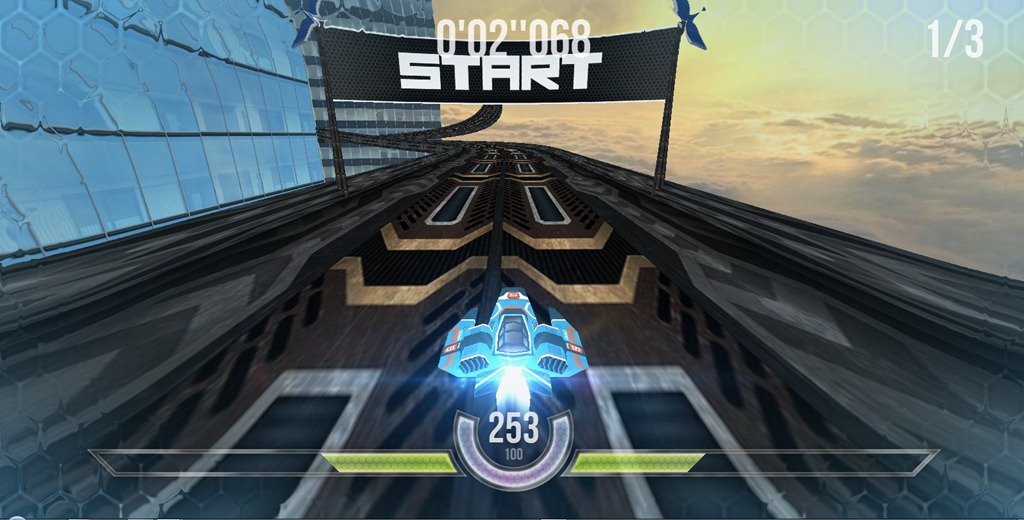 HexGL – Gaming in browser la un alt nivel