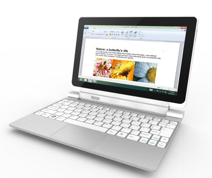 Acer anunta un nou hibrid pentru iminentul Windows 8 – W700