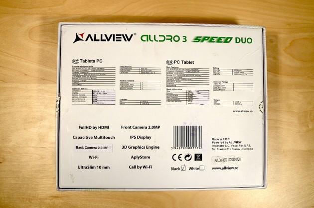 Allview Alldro 3 Speed Duo - Cutie Spate