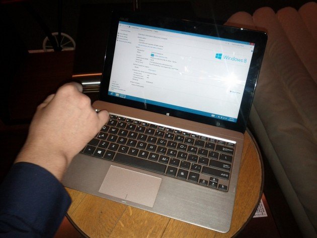 Asus VivoBook S200 Windows Index
