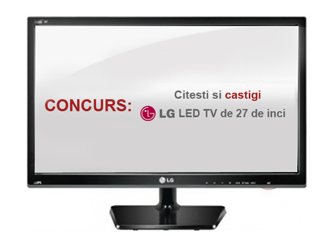 CONCURS LG Monitor LED TV 27 de inci – M2732