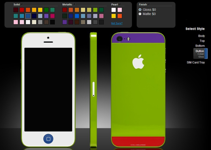 Colorware iti vinde un iPhone 5 exact pe gustul tau