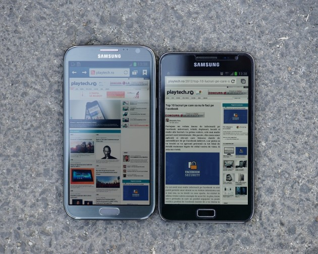 Comparatie Note I vs Note II