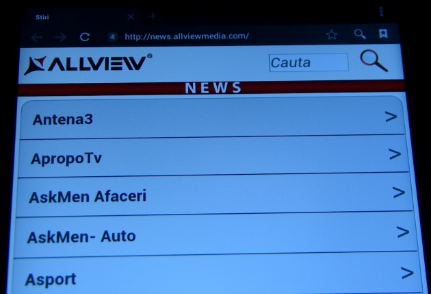 Allview Alldor Speed 3 Duo - News