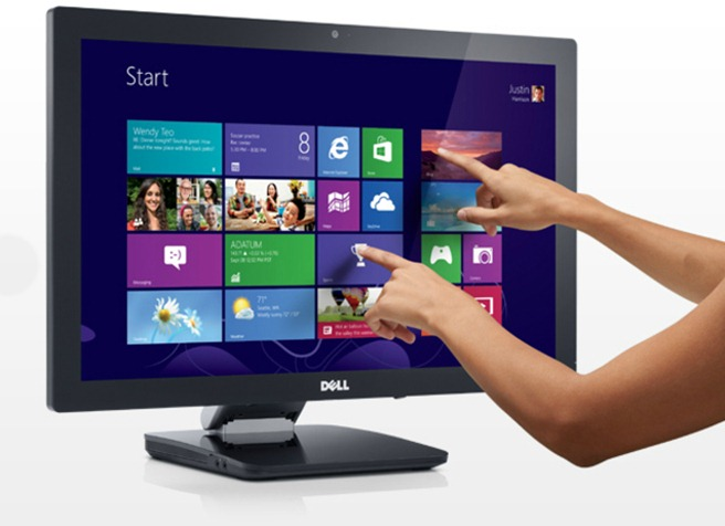 Dell Multitouch Monitor Trackpad