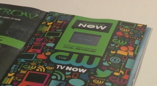 Revista tiparita cu continut video ascundea de fapt un smartphone