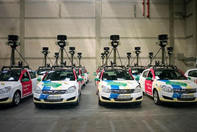 Flota Google Street View