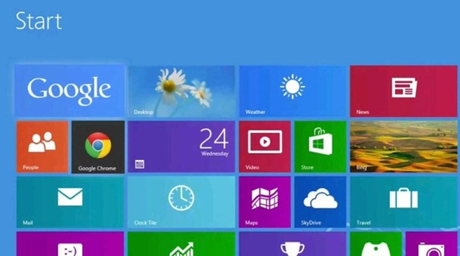 Google in Windows 8