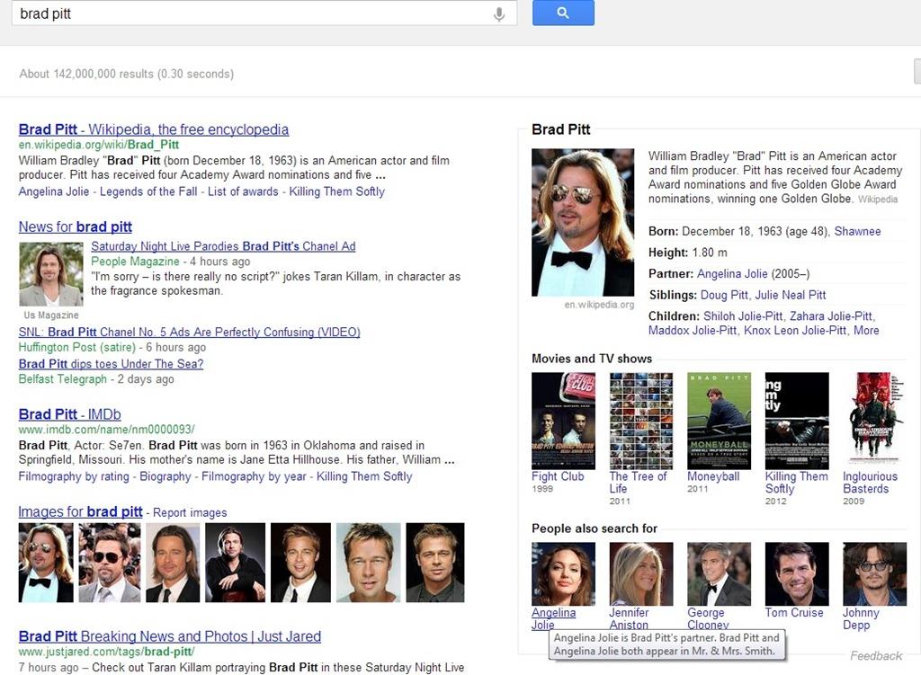 Google iti explica sugestiile la cautare din Knowledge Graph
