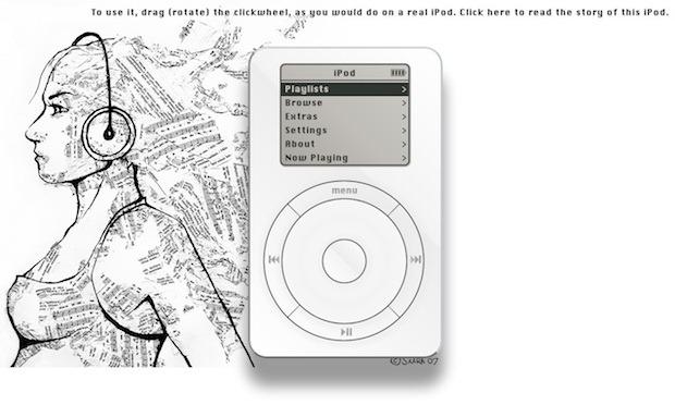 Un nou experiment HTML5 ne aduce aminte de primul iPod