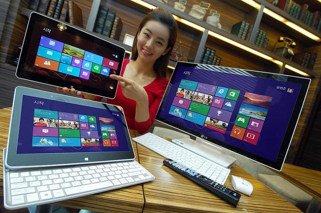 LG impresioneaza audienta cu noi dispozitive cu Windows 8