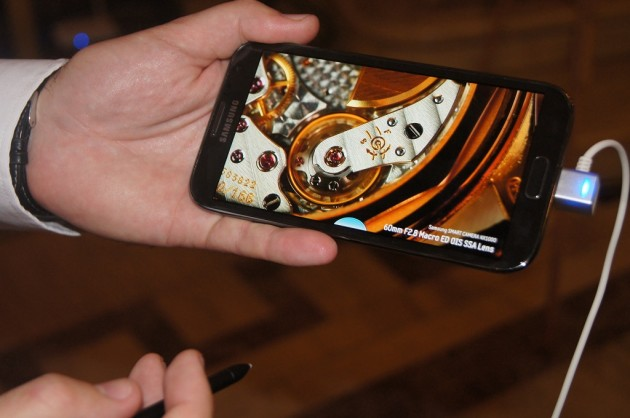 Lansare Samsung Galaxy Note II