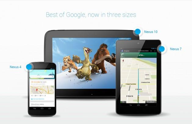Lansare noua gama Google Nexus