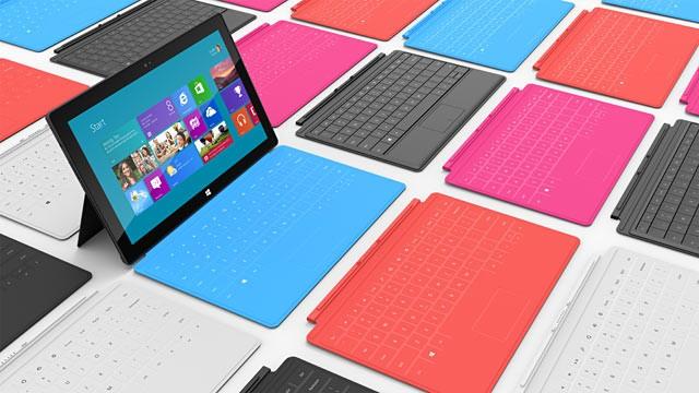Prima reclama pentru Microsoft Surface