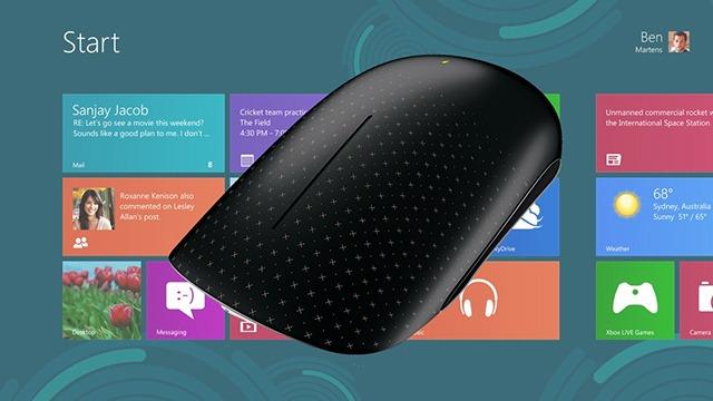 Microsoft isi pregateste perifericele pentru Windows 8
