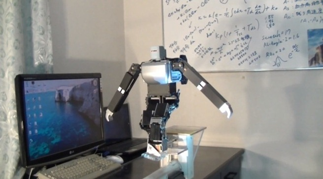 Robot pe sfoara