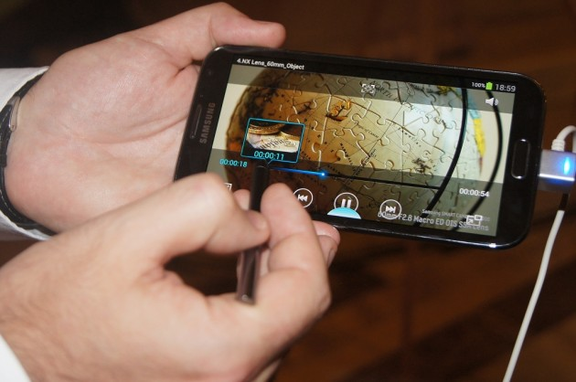 Samsung Galaxy Note II Airview