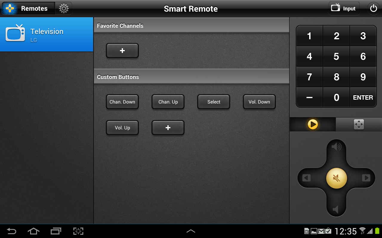 Samsung Galaxy Note 10.1 Smart Remote